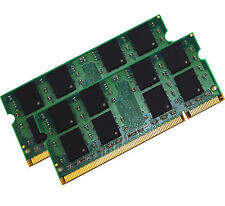 NEW! 4GB (2X2GB) MEMORY 256X64 PC2-6400 800MHZ 1.8V DDR2 200 PIN SO DIMM