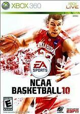 NCAA Basketball 10  --  Microsoft Xbox 360 Game w/ Case ***Guaranteed*** College
