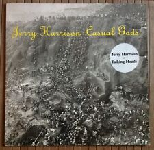 JERRY HARRISON (Talking Heads) / CASUAL GODS - LP (printed in Holland 1988)
