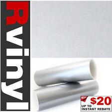 """Pro 24""""x12"""" Silver Gloss Vinyl Film Body Kit Spoiler Wrap for Nissan & more"""
