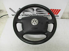 VW PASSAT B5 MULTIFUNCTION LEATHER STEERING WHEEL & AIRBAG 1J0880201K