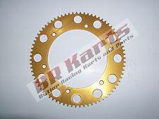 89 Tooth #219 Chain Gold Solid Sprocket - Mini Bike & Go Kart Racing Parts
