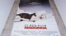 madonna IN BED WHIT MADONNA  ! affiche cinema