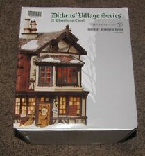 Department 56 Dickens Village Ebenezer Scrooge's House, New w/free shipping