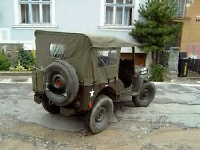 Willy's Jeep M38, Verdeck, Sommerverdeck mit Seitenteilen aus U.S. canvas!