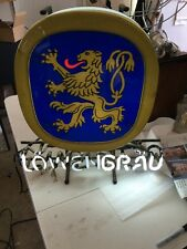 Lowenbrau Neon Sign In Working Order Vintage Man Cave