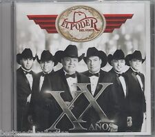 El Poder Del Norte CD NEW XX Anos ALBUM Estreno 2014 SEALED