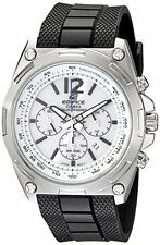 Casio Men's EFR-545SB-7BVCF Edifice Tough Solar Chronograph Stainless Steel