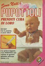 X2325 Sono nati i PUPOTTOLI - Pubblicità 1986 - Advertising