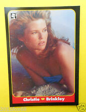 figurines chromos figurine masters cards 59 christie brinkley 1993 model moda gq