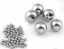 300pcs 16g14g Stainless Steel Ball Body Jewelry Accessory For Lip/Eyebrow/Tongue