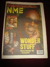 NME 1989 APR 22 STEVIE WONDER DEACON BLUE SIMON LE BON PIXIES WEDDING PRESENT