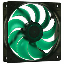 Nanoxia 120mm Deep Silence Quiet PC Case Fan 1300 RPM, 60.1 CMF, 14.2 dBA, 3-Pin
