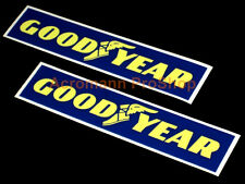 "2x 6"" 15.2cm Goodyear decal sticker tires truck Indy rally sponsor vinyl car d1"