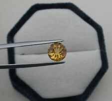 Citrine Round Natural Loose Gem 8mm
