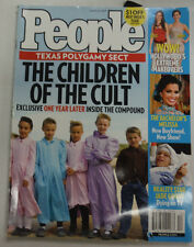 People Magazine Texas Polygamy Jade Goody March 2009 052615R