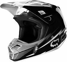 Fox Racing V2 Giant Motocross Dirt Bike Off-Road Helmet Black Adult Small