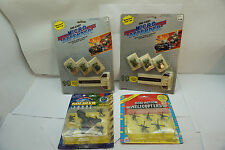 VINTAGE MILITARY TOYS MINIATURE VEHICLES HELICOPTERS FUNRISE MICRO JEEPS MOC MIP