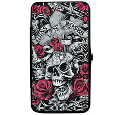 Guns N Roses Women's Flourish Cross & Skull Girls Wallet