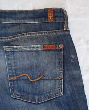 Women 7 Seven For All Mankind Jean Bootcut New York Dark NYD Stretch Size 29 x32