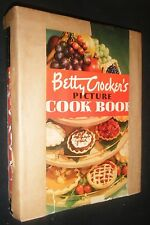 VINTAGE 1950 BETTY CROCKER'S PICTURE COOK BOOK FIRST EDITION EIGHT PRINTING