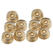 20Pcs Gold Speed Guitar Control Knobs for Gibson Les Paul replacement