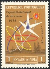 Portuguese India 1958 EXPO/Exhibition/Buildings/Architecture/Atomium 1v (n37349)
