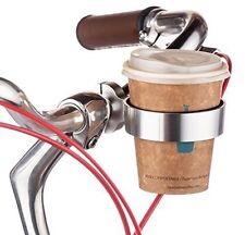 Bike Handlebar Coffee Water Cup Holder Cage