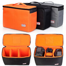 Waterproof DSLR SLR Camera Insert Padded Partition bag Lens Bag Pouch Cover Case