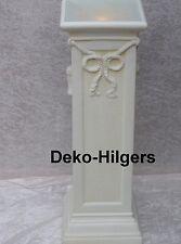 Säule Mit Licht Stehlampe Lampe Stuckgips Säulenlampe Stehleuchte Crem 6836