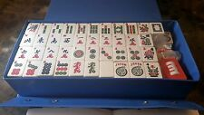 Vintage Mah Jongg Game Set With Vinyl Case Mah Jong Very Nice Gift Idea
