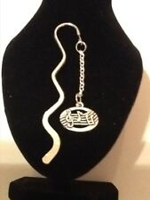 Music book mark silver plated
