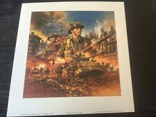 Strong and Free Canadian War Series David Craig WW2 Collectors Edition Print