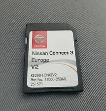 Carte SD GPS Europe 2017 - Nissan Connect 3 LCN2 v2 (SD CARD)