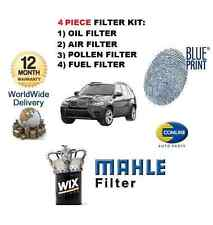 FOR BMW X5 SD M SPORT 3.0 2007-6/2010 SERVICE KIT OIL AIR FUEL POLLEN FILTER SET