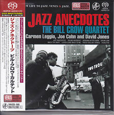 Bill Crow Quartet Jazz Anecdotes Japan Venus Records Audiophile DSD SACD CD New
