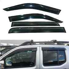 NISSAN NAVARA D40 2005-10  WINDOW DEFLECTOR VISOR VENT SHADE SUN VISOR SUN GUARD