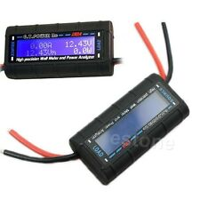 High Precision G.T.POWER RC 130A Watt Meter and Power Analyzer LCD GT-Power 60V