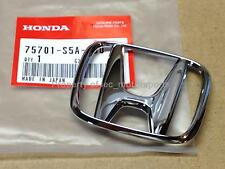 "New OEM 2001-2005 Honda Civic LX DX EX Chrome Rear ""H"" Trunk Emblem Badge S5A"