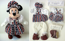 "Americana Doll Clothes w/ Boots For 6-10"" Beanies Bears & Dolls Fourth of July"