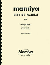 Mamiya RB67, Mamiya RB-67 Repair Manual