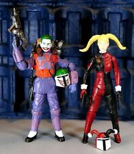 Custom Joker & Harley Quinn Mandalorian Action Figures! DC Comics! Star Wars!