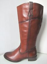 Tamaris Leder Stiefel XL Weitschaft muscat cognac 38 leather boots brown muskat