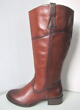 Tamaris Bottes en cuir xl jambe Muscat COGNAC 38 LEATHER BOOTS Brown qu'