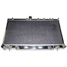 CXRacing Aluminum Radiator For 2002 Subaru Impreza WRX 2.0L