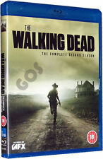 The Walking Dead Complete Second Season Blu-Ray Horror TV Series 2 New Sealed