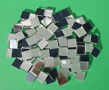 YK * 100  MOSAIC MIRROR GLASS TILES 10mm x 10mm x 2mm Thick