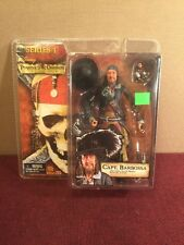 "Pirates Of The Caribbean Capt. Barbossa 6"" Figure NEW!!! Reel Toys Series 1 NECA"
