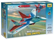 ZVEZDA 7234 MIG-29 FULCRUM AEROBATIC TEAM THE SWIFTS SCALE MODEL KIT 1/72 NEW