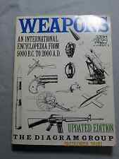 WEAPONS AN INTERNATIONAL ENCYCLOPEDIA BOOK FROM 5000 B.C. TO 2000 A.D DIAGRAMS